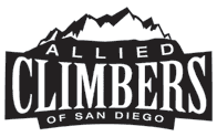 Allied Climbers of San Diego Retina Logo